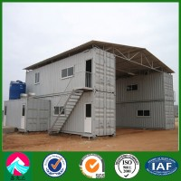 Two Storey Container House with Color Coated Steel Roof (XGZ-CH025)