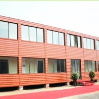 Modified Prefabricated Container House for Shop Office Accommodation
