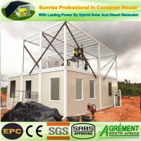 40FT Modified Shipping Cheap Flatpack Trendy Detachable Container House Shed