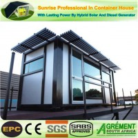 Turnkey Prefab Prefabricated Portable / Modified / Converted / Laundry Container Hotel House