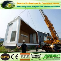 Prefab Prefabricated Steel Structure Modular Mobile Shipping Modified Container House