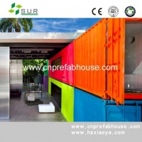 Modern 40ft Modified Shipping Container House (XYJ-01)