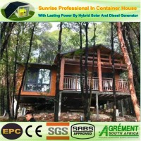 Mobile Prefabricated Steel Modified Container Home Cabin Villa House