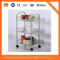 Stainless Steel Kitchen Trolleys for Home Use