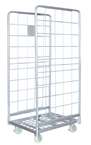 Logistic Hand Trolley Cart for Warehouse Cargo Storage Image1
