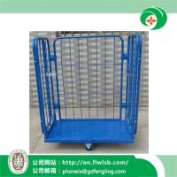 Powder Coating Cage Trolley for Warehouse Storage with Ce