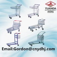 Good Quality Flat Trolley with Good Design for Warehouse/Supermarket