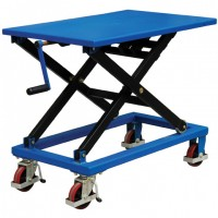 Screw Type Lift Table Cart Without Oil Leakage Risk