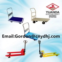 Durable Hand Truck/Hydraulic Cart for Supermarket/Warehouse