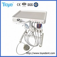 Economical Medical Supply Dental Chair Trolley with Suction, Dental Portable Unit