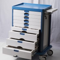 Hospital Furniture Medicine Trolley with CE Approval