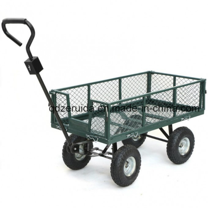 High Quality Heavy Duty Meshed Garden Cart (TC1840) Image1