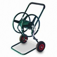 Pb-Free and UV-Resistant Powder Coating Garden Hose Reel Cart (TC470