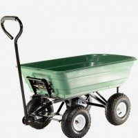 Heavy Duty Durable Tipping Garden Cart