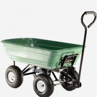 Heavy Duty Folding Tipping Garden Cart