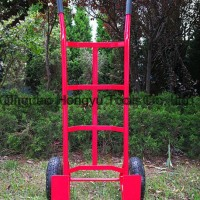 Heavy Duty Garden Metal Two Wheel Hand Trolley
