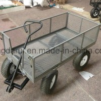 Heavy Duty Steel Mesh Garden Cart (TC4205C)