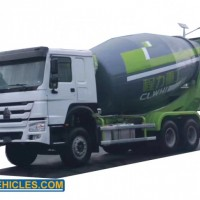 High Quality Heavy Duty 9m3 HOWO 6*4 Concrete Mixer Truck From Factory