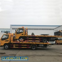 JAC 4*2 4t Rescue Car Carrier Flatbed Wrecker Tow Truck