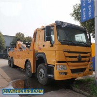 HOWO 8*4 Heavy Duty 25t Towing Recovery Integrated Tow Truck