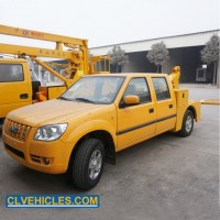 Flatbed Hydraulic China Pickup Cars Transfer Broken Car Tow Truck