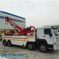 HOWO 30t 40000kg Heavy Duty Recovery Vehicle Tow Truck Rotator