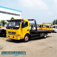 Car Towing Road Marking Truck China Wrecker for Sale