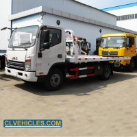 JAC Tow Truck Bed Roll Back Tow Truck for Sale in Dubai