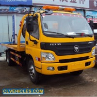 Foton 4ton Light Duty Road Recovery Vehicle Flatbed Wrecker Tow Truck