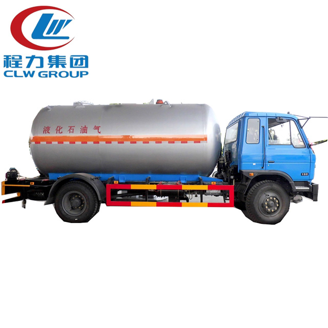 Dongfeng 15CBM LPG Bobtail Propane Delivery Tanker Truck Image1