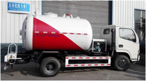 2116 Gallon Fully Refrigerated LPG Propane Delivery Road Truck Image1