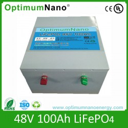 Rechargeable E-Truck Lithiun Battery 48V 100ah