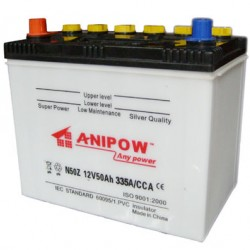 DIN-Standard 12V 50ah Battery Car Battery Truck Battery