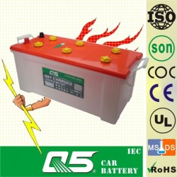 N150, 12V150AH Dry Battery, Heavy Duty Truck Battery