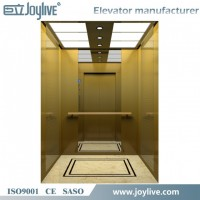 630kg Glass Passenger Elevator Lift for Shopping Mall